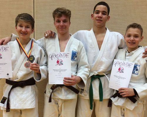Lion Abboud Herbert ist Süddeutscher Meister U18