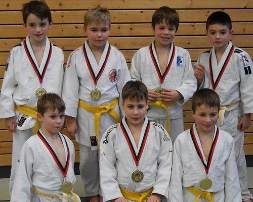 U10 Judoka mit Sigmaringen Meister
