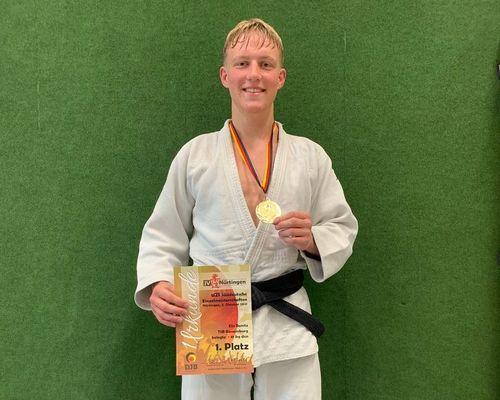 TSB Judoka Elis Bonitz ist Süddeutscher Meister U21