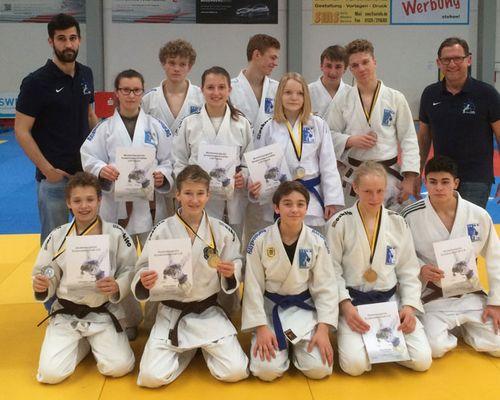 U 18 Judoka überzeugen bei Landesmeisterschaft