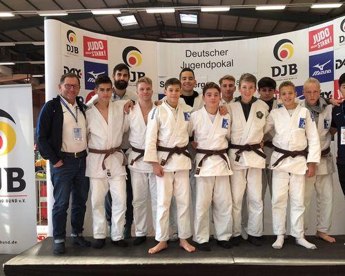 U 18 Team erkämpft sich Platz fünf bei Deutschem Jugendpokal