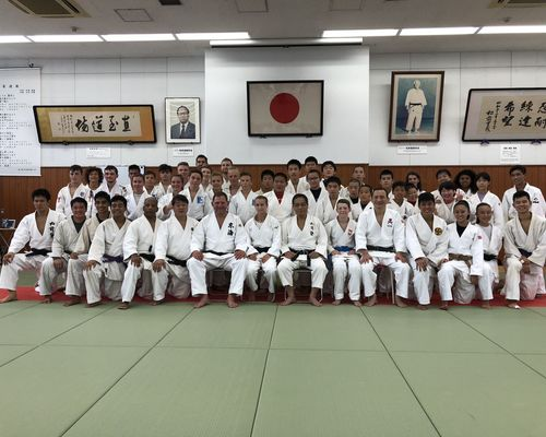 TSB Judoka zu Gast bei der Tokai University in Tokio