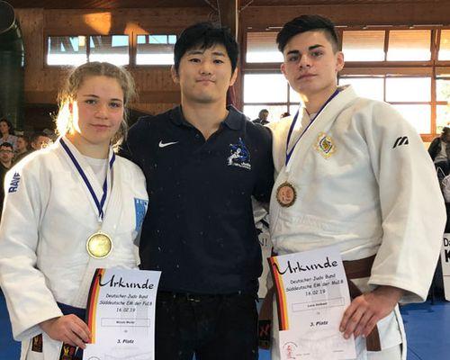 Nicole Weiler und Luca Guilbaut qualifizieren sich für Deutsche Meisterschaften