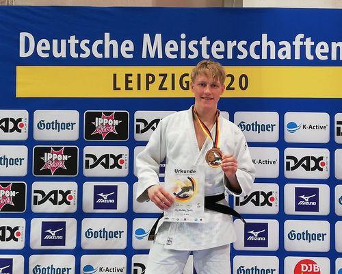 Elis Bonitz holt Bronze bei den Deutschen