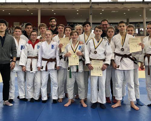 13 TSB Judoka qualifizieren sich zur Süddeutschen