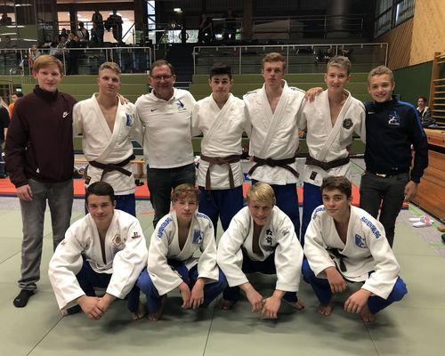 TSB Judoka fahren als Vizemeister nach Potsdam
