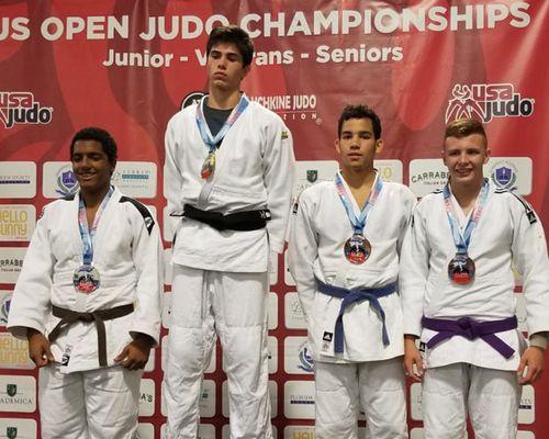 Lion Herbert Abboud holte Bronze bei US Open