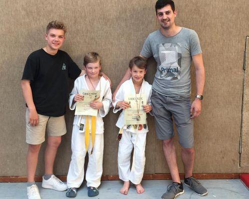 Vier Medaillen für die Jüngsten