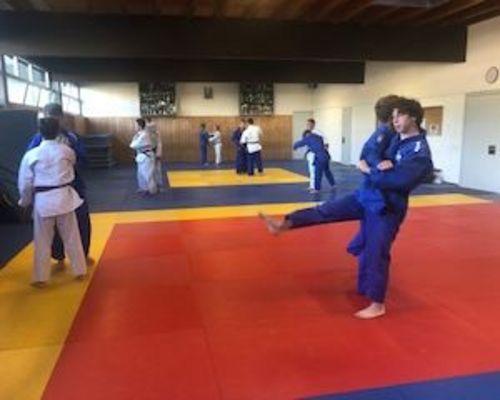 Judotraining nach den Ferien
